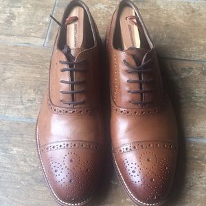 Johnston and Murphy Derby Shoes